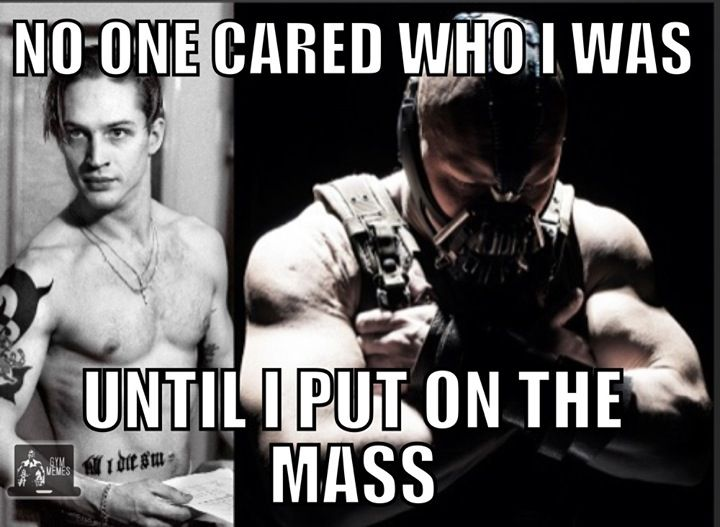 nobody cared until i put on the mass meme