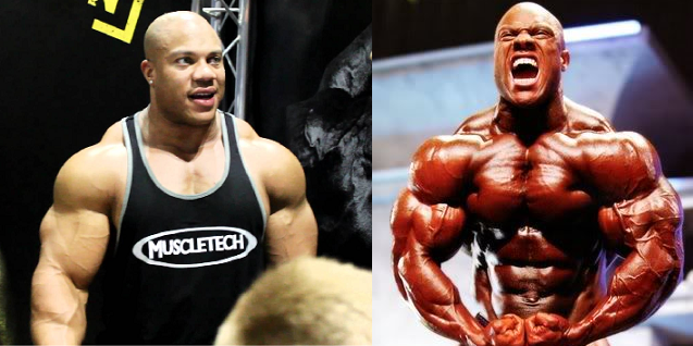 phil heath veins