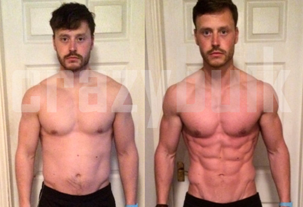 ripped steroid transformation