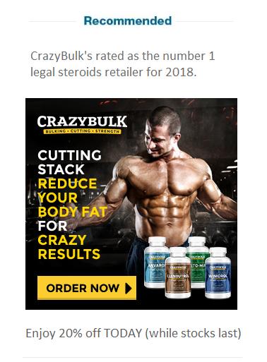 crazy bulk cutting steroids