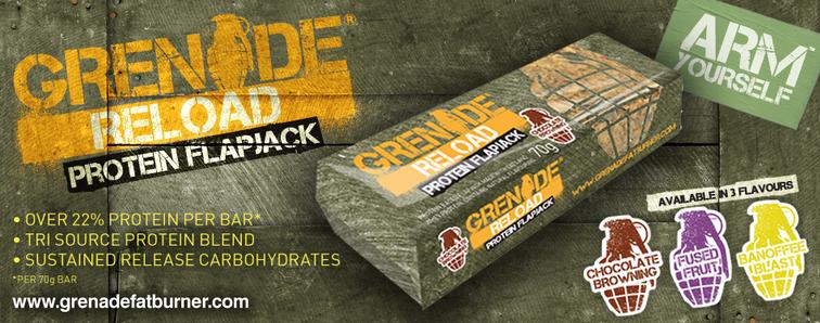 grenade-flapjacks